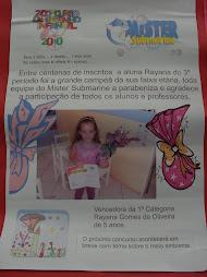 Aluna da Rede vence 2º concurso de desenho infantil
