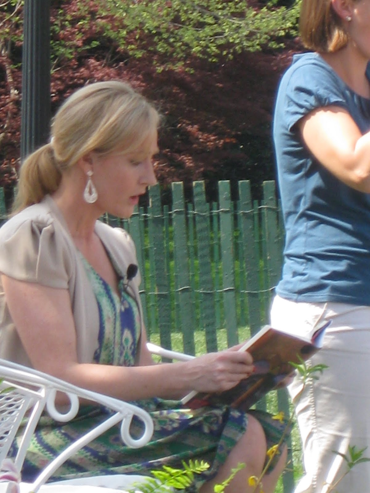 White house apron