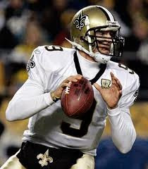 Drew Brees, quarterback of the New Orleans Saints