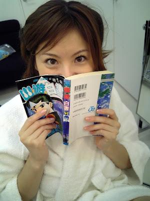 麻美ゆま在看幽遊白書!