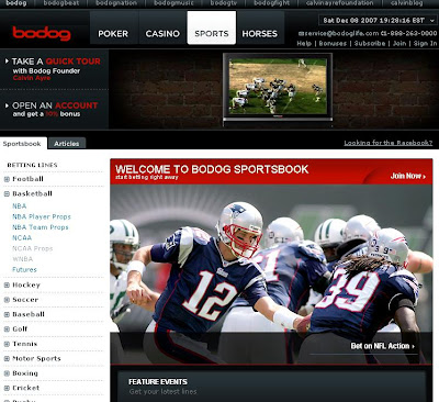 Bodog Sports Betting