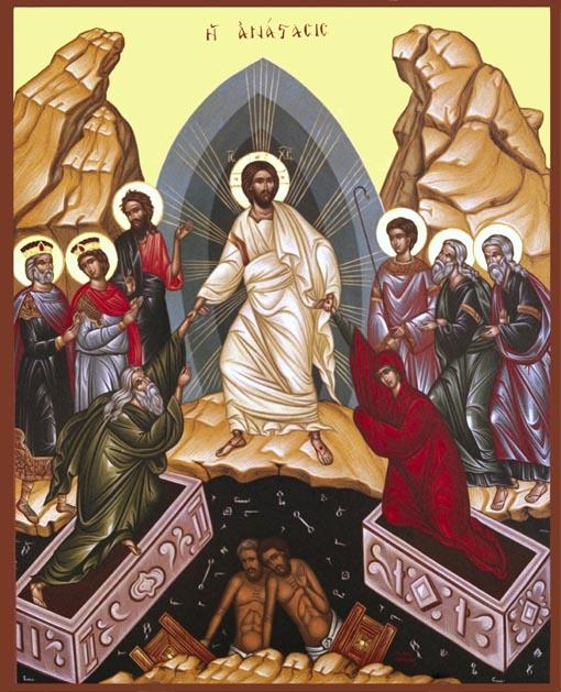 Ikona Chrystusa Zmartwychwstałego