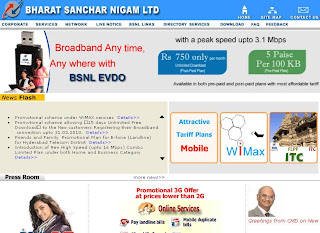 BSNL Landline Number Search Using Online Directory at Bsnl.co.in