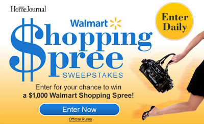 LHJ.com offers Walmart Shopping Spree Sweepstakes 2011