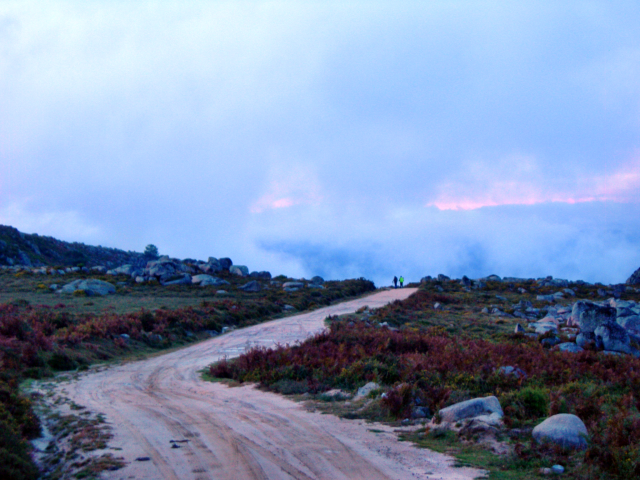 Paisagens de Portugal - Pico da Nevosa - caminho em terra