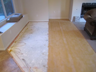 step by step instructions on how to prep and paint concrete floors. Black Bedroom Furniture Sets. Home Design Ideas