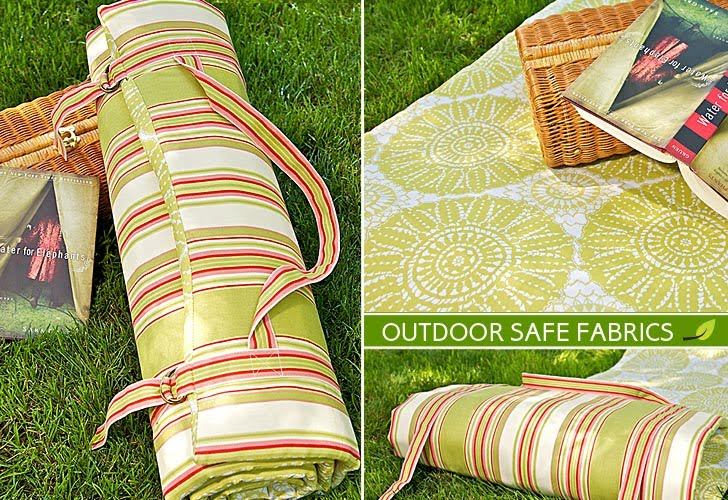 A World Of Crafts: How To Make A Padde Outdoor Cushion!