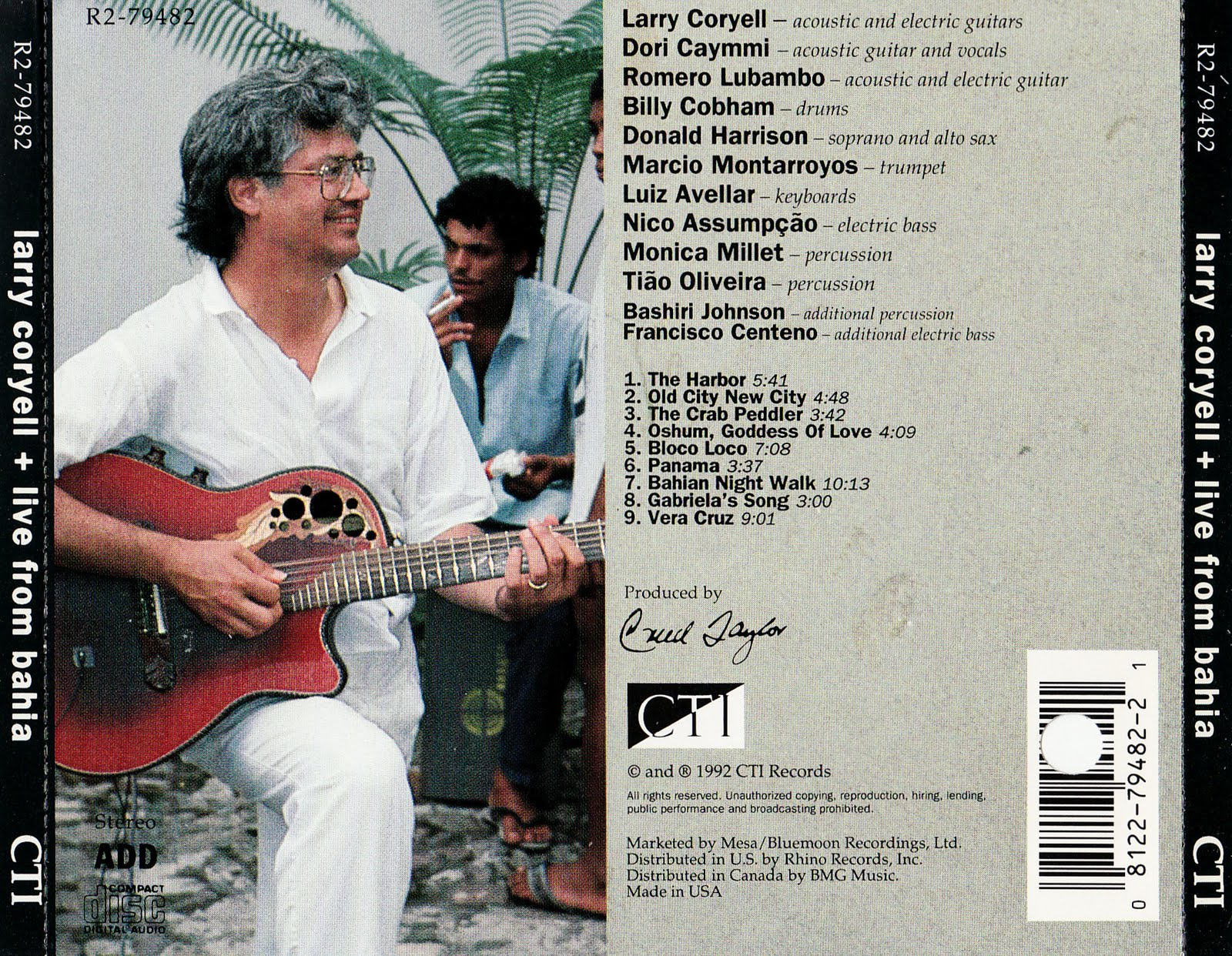 The Cover Project Larry Coryell Live From Bahia