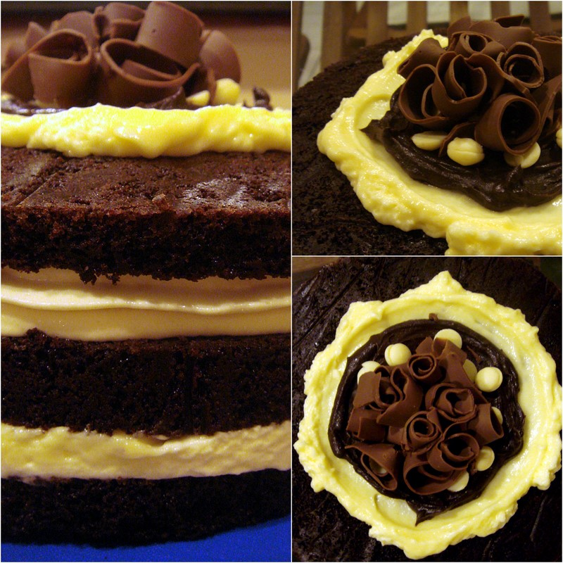 Chocolate Banana Cake!