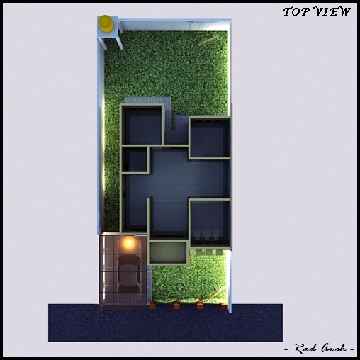 Rad arch home design rumah minimalis modern part i for Modern house 8 part 3