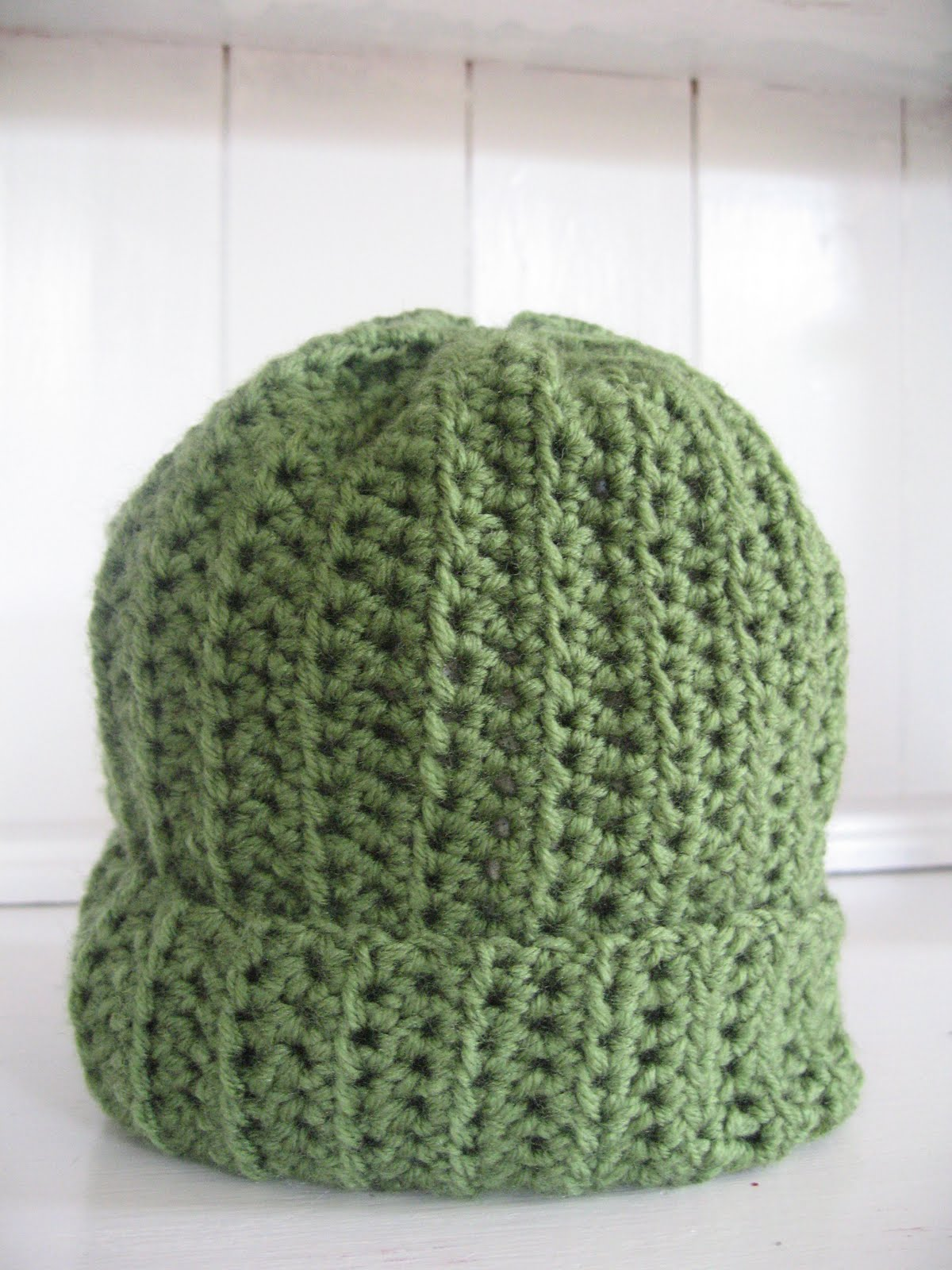 Half-double crochet decrease