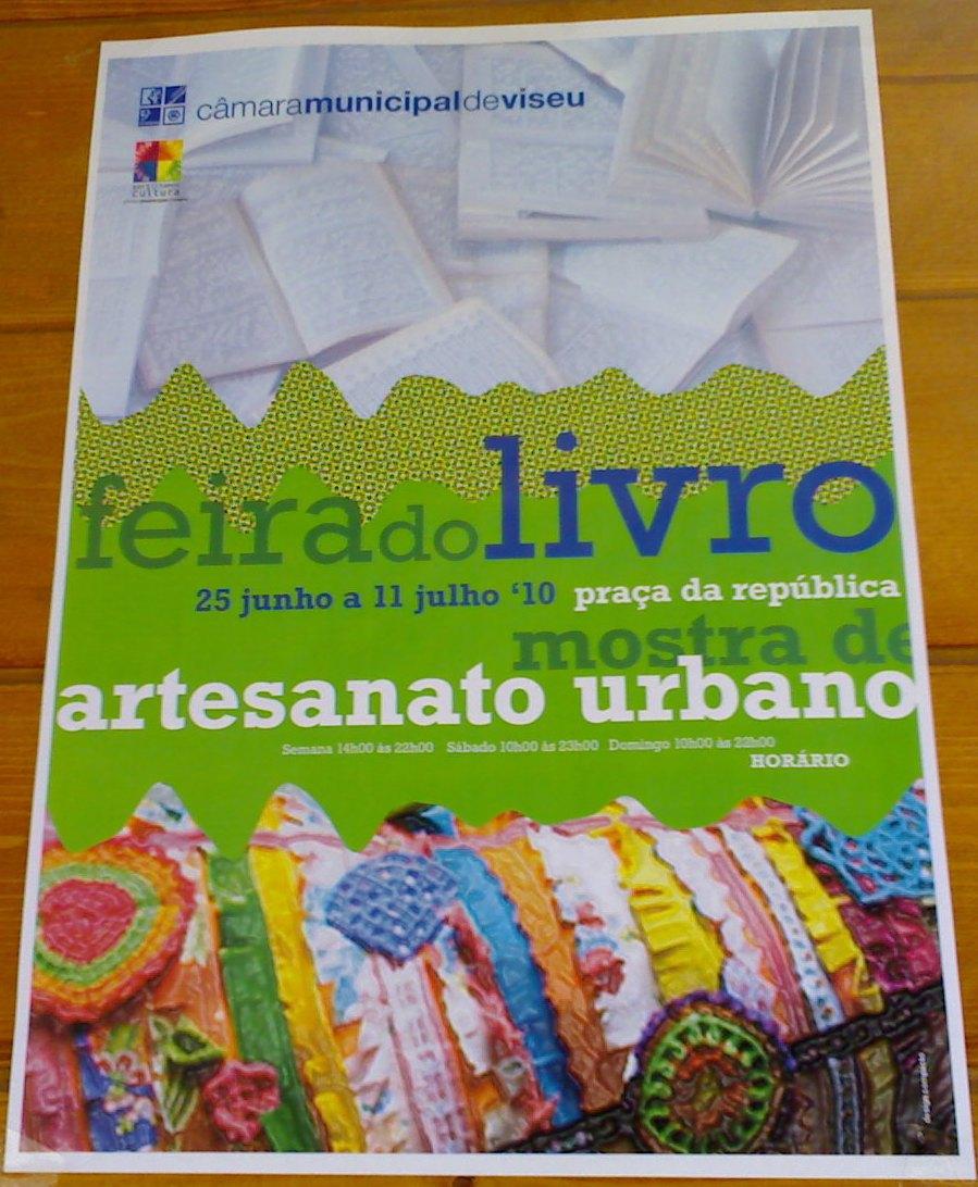 Armario Esquinero ~ Centro de Portugal Até 11 07 Feira do Livro e de Artesanato Urbano em Viseu