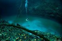 Meksiko : Sungai di Dasar Laut