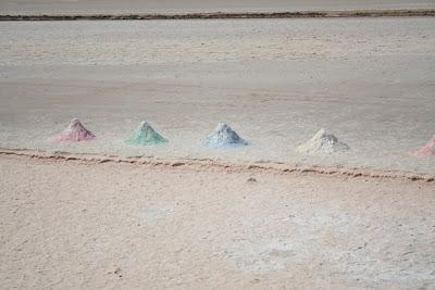 Los colores de la sal