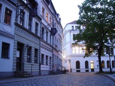 Calle peatonal en Nikolaikirche