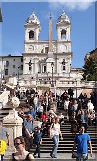 Scalinata della Trinità dei Monti - Piazza di Spagna