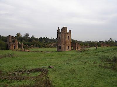 Villa y Circo di Massenzio