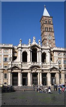 Fachada de Santa María Maggiore