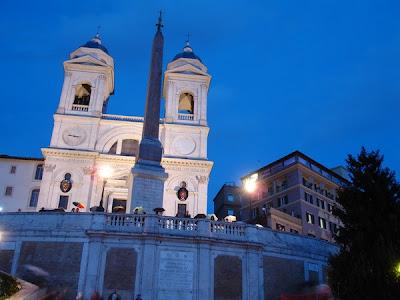 Trinità dei Monti - Piazza di Spagna