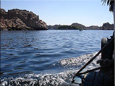Rumbo a la Isla de Agilkía