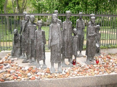 Monumento a los judíos de berlín asesinados en el Holocausto