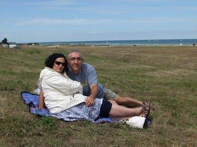 Amaiketako en la 'Omaha beach'