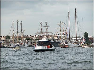 En Amsterdam encontramos todo tipo de embarcación