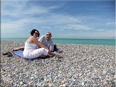 De nuevo amaiketako en la playa