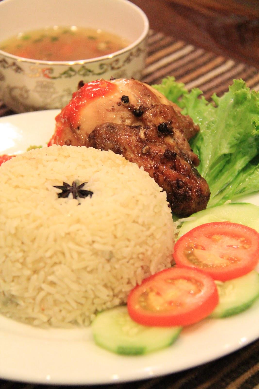 Bersama Kak Dee - Resepi Nasi Ayam ( Nasi & Ayam)