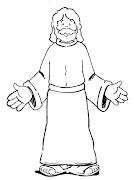 Desenhos Biblicos de Jesus para Colorir. Postado por lindos desenhos para . (jesus)