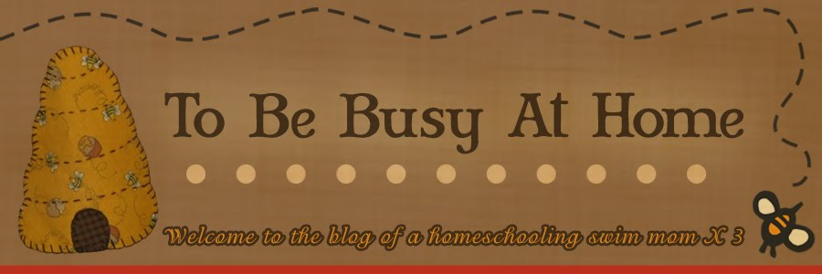 To Be Busy At Home