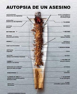 Autopsia de un asesino - Componentes del tabaco