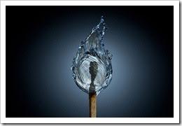 Todo es agua, incluso el fuego