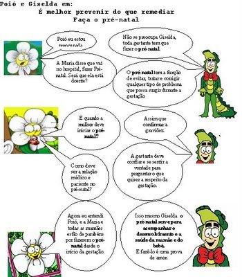 História em quadrinhos,  despertar o interesse da criança é essencial...