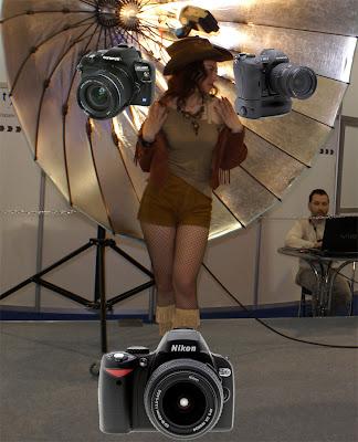 Olympus E400 vs Nikon D40x