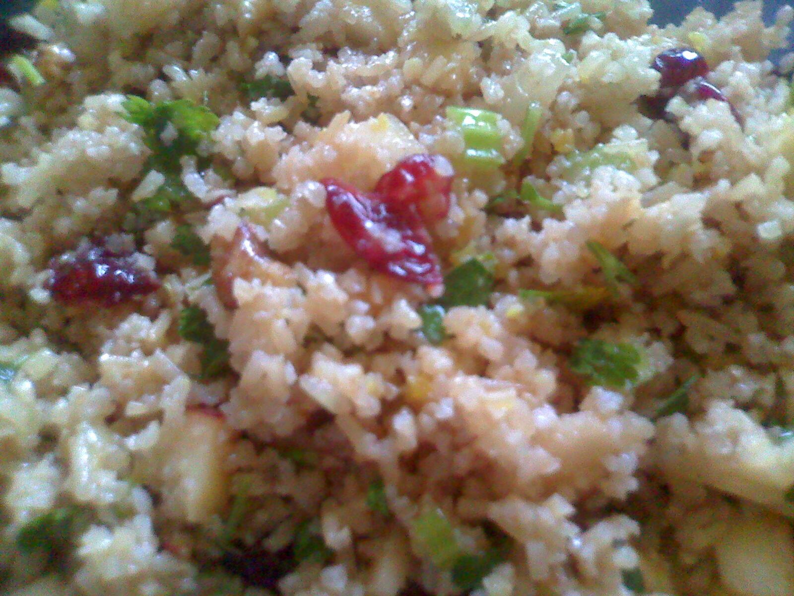 Fruity Basmati Recipe — Dishmaps