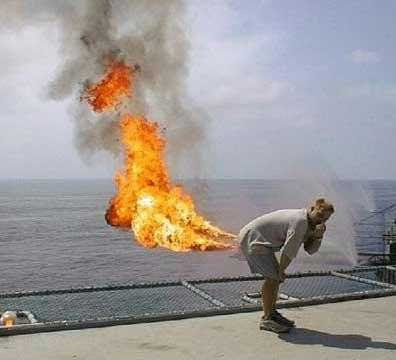 Funny Fart Illusion - Fire Optical Illusion
