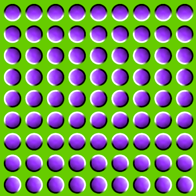 Moving Sub Dots Optical Illusion - Moving Dots Illusion