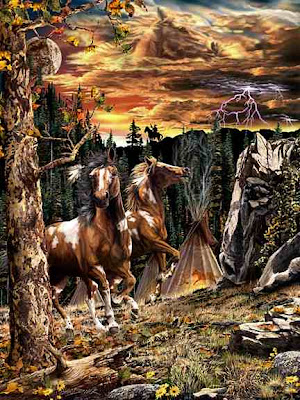 Find the 14 Horses Illusion - Hidden Horse Illusion