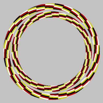 Concentric Circles Illusion