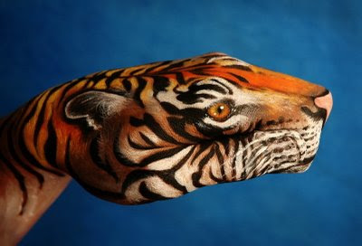 Tiger Illusion | Hand Painted Illusion