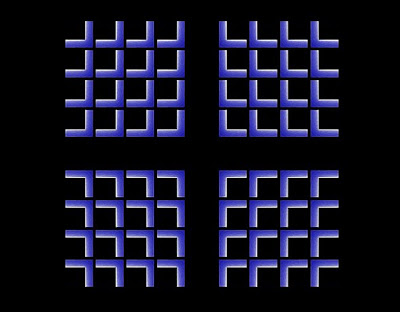 Shrinking Cross Illusion