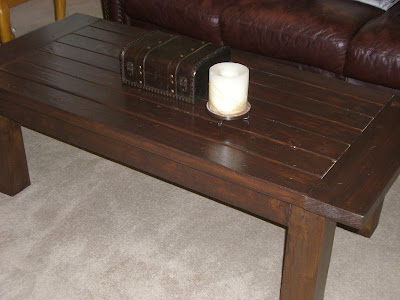 An Inviting Abode Pottery Barn Coffee Table Construction - Pb coffee table