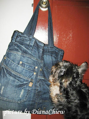 Tote-Bag Silky-Terrier