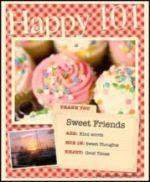 Thank You Sweet Friends Award