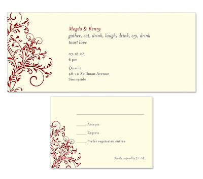 Wedding Rehearsal Ideas on Paper Bloom    Invitation Design Studio  Rehearsal Dinner Invitation