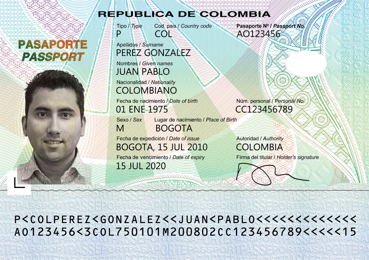 Search Results Pasaportes Pasaporte Colombiano Html