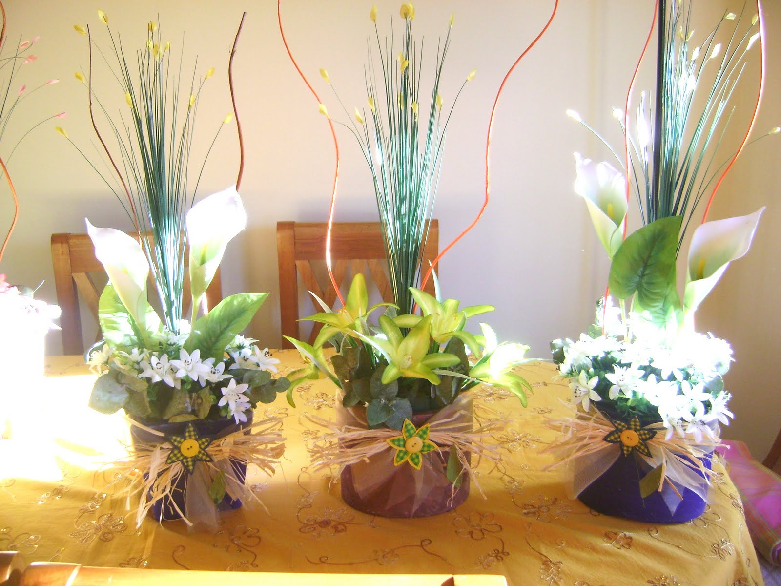 Como hacer arreglos florales - Plantas artificiales ...