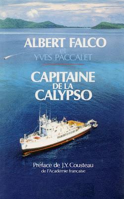 capitaine de la Calypso, par Albert Falco et Yves Paccalet, couverture