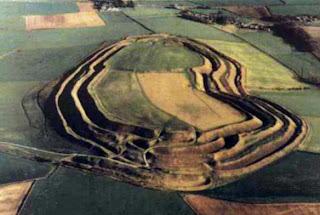Maiden Castle, near Dorchester